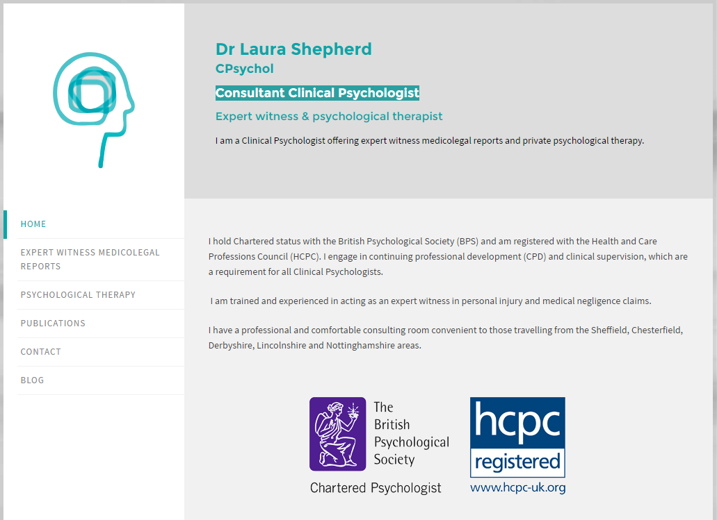 Laura Shepherd Consultant Clinical Psychologist