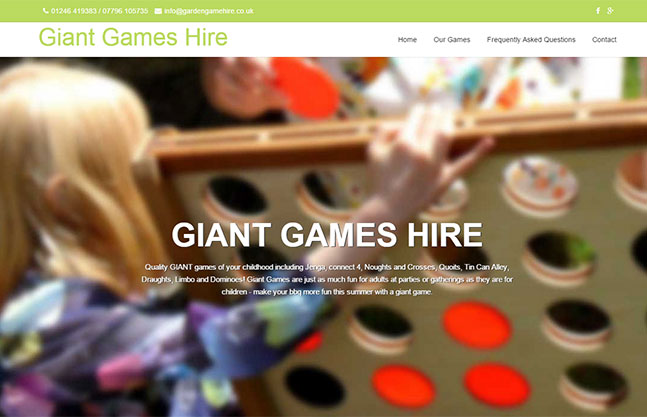 Giant Game Hire